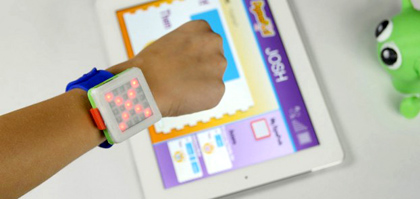 The DynaPod,  wearable kidtech with a built in programming twist