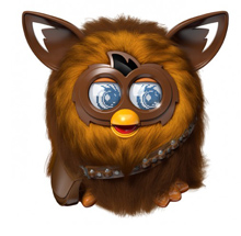 Hasbro's latest Furby creation, with a Star Wars twist: Furbacca