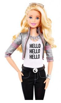 Mattel's Hello Barbie was among the top tech toys talked about at the 2015 NY Toy Fair