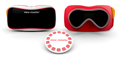 Mattel's update to the View Master with a little help from Google VR