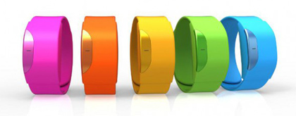 The Moff Band is a wearable device that communicates with your smart device as you move