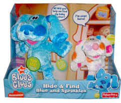 Hide & Seek Blue and Sprinkles photo