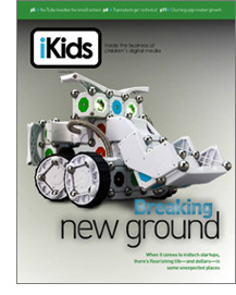 Summer 2014 cover of iKids Magazine for the story Breaking New Ground.