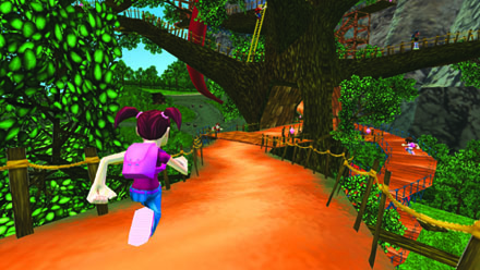 Screen capture from one of the many virtual worlds within www.me2universe.com