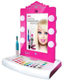 Mattel's new Barbie Makeover Mirror nicely integrates an iPad with pretend play.