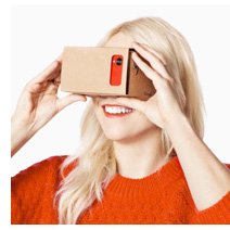 Photo of Google Cardboard