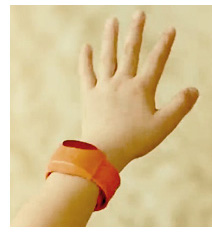 Photo of the Moff Band interactive product