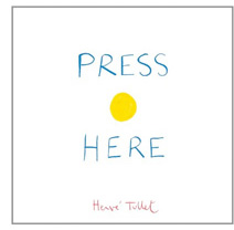 Image of the Press Here children's book by Hervé Tullet