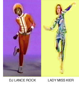 DJ Lance Rock and Lady Miss Kiev photo