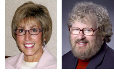 Photos of Cathleen Norris of the University of North Texas and Elliot Soloway of the University of Michigan