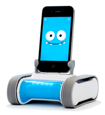 Romo the controllable, programmable robot by Romotive