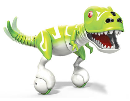 The Spin Master Dino robotic toy was among the top viewed toy videos in December, 2014.